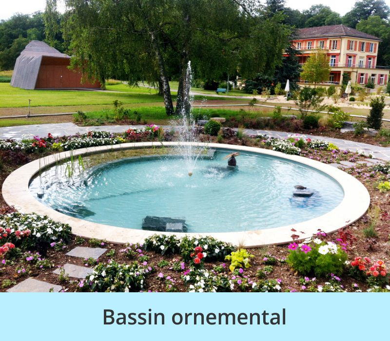Bassin ornemental