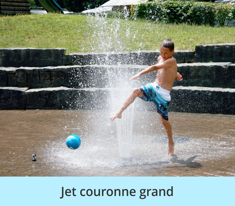 Jet couronne grand